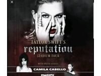 2 Taylor Swift Reputation Tour Tickets Manchester