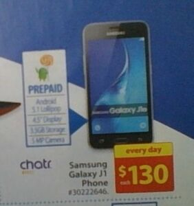 Brand New Chatr Mobile Samsung Galaxy J1 For Sale