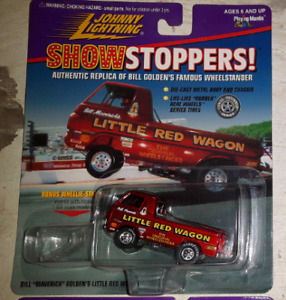 LITTLE RED WAGON Die cast Wheel stander Truck.