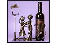 Lucy and Lee Dancing Wine / Bottle Holder - Perfect Gift or Decorative Item