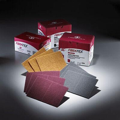 Carborundum Fibratex Scuff Pad Ultra Fine (gray) 6x 9 5 Pack