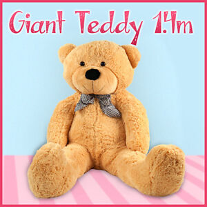 1.4M NEW Giant Huge Bears Stuffed Plush Teddy Bear Animal Doll Brown or White