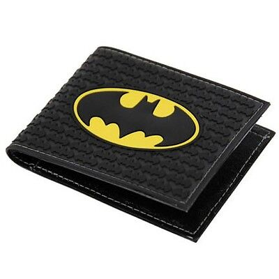 New Batman Logo Wallet Official License DC Comics Batman Embossed Rubber Wallet on Rummage