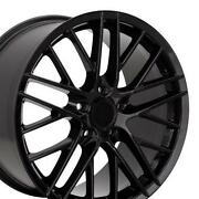Black C6 Corvette Wheels