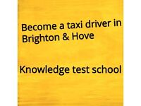 Become a taxi driver in Brighton and Hove. Knowledge test school.