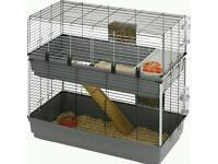 Double Rabbit Indoor Hutch