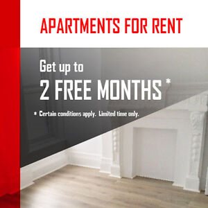 3 BEDROOM - UP TO 2 MONTHS OF FREE RENT