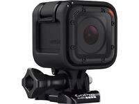 GO PRO SESSION 4 - Hardly Used - 1080p 60 FPS - FREE ACCESSORIES such as body hardness + dash cam