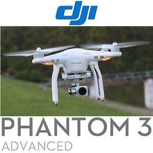 NEW OB DJI PHANTOM 3 ADV QUADCOPTER - 117627757 - DRONE 1080P VIDEO CAMERA