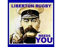 Men and ladies interested in playing rugby