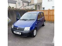 Fiat Panda 2008 1.1 Petrol Blue NEW MOT - CHEAP INSURANCE - NEW TYRES + RADIO