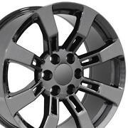 Black Cadillac Rims