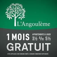 L'Angoulème 66 Des Hauts-Bois, 4 ½ à Louer Complètement r