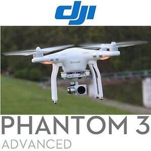NEW OB DJI PHANTOM 3 ADV QUADCOPTER - 117627757 - DRONE 1080P VIDEO CAMERA