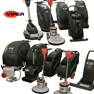 Viper Floor Scrubber Carpet Extractor Burnisher