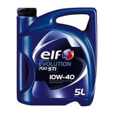 Elf Evolution 700 STI 10W40 5L Aceite de motor Lubricante para coche