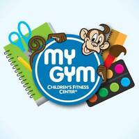My Gym Children's Fitness Center Enrollment Event!!!