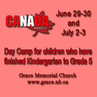 Canada Rocks! Summer Day Camp for Kids