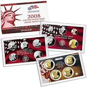 2008 Silver Proof Set 14 Coin