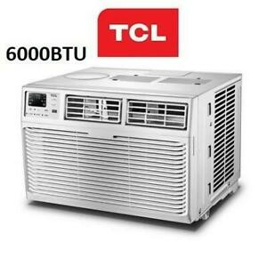 USED TCL 6000BTU WINDOW AC TWC-06CR/UH 253188777 AIR CONDITIONER COOLING