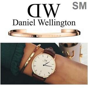 NEW DANIEL WELLINGTON CUFF SMALL - 129073833 - ROSE GOLD - BRACELET - JEWELLERY JEWELRY