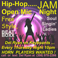 HORN PLAYERS & LADY SOUL SINGERS ****WANTED