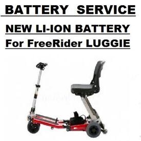 FreeRider Luggie Battery SERVICE 24v 8.8ah Li-ion