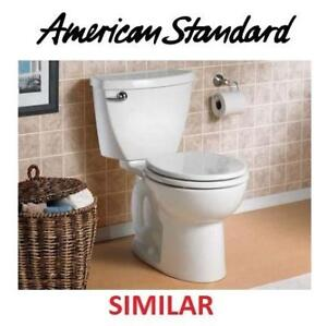 NEW ROUND TOILET BOWL AND TANK 3717B.001.020 138419778 CHAIR HEIGHT AMERICAN STANDARD CADET 3 1.28GPF SINGLE FLUSH