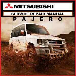 MITSUBISHI PAJERO - NG NH NL NM NP SERVICE REPAIR WORKSHOP MANUAL 1990-2006