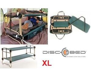 NEW DISC-O-BED PORTABLE BUNK BED XL 30002BOEP 215585441 INDOOR/OUTDOOR CAMPING COTTAGE CAMPUS CABIN Camp Bed