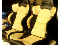 Toyota Supra Reclining Bucket Seats - £120