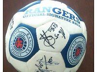 Glasgow rangers signed football Nacho novo days .... open too offers