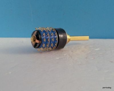 Rotary Switch 2 Pole 12 Step Rme-2-10-20 Gold Plated