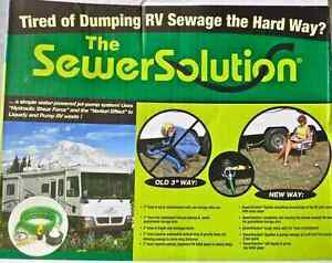 Sewer Solution (NEW) + Extension Hose (NEW)