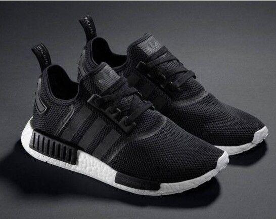 adidas NMD trainers black & white size 9 UK