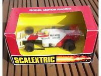 Scalextic car.