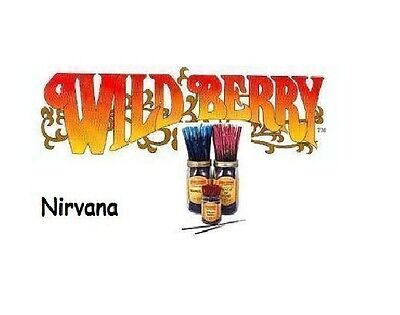 Wild Berry 'Nirvana' Incense Sticks (pk10) (T18)