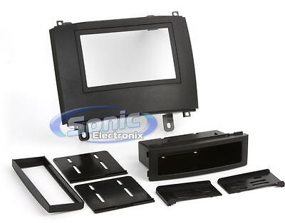 Scosche GM1586B Single/Double DIN Installation Kit for 2003-Up Cadillac CTS/SRX