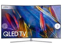 Samsung QE55Q7F QLED HDR 1500 4K Ultra HD Smart TV, 55 Inch