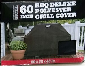 NEW: BACKYARD GRILL 60 INCHES BBQ COVER (OPENED BOX ITEM)