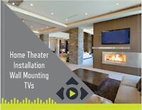 Home Theater Installation Service - TV Wall Mounting