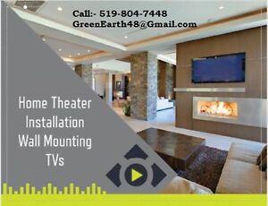 Home  Entertainment Room Installation Service Cambridge Kitchener Area image 1