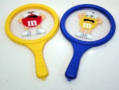 M&M's Candy Pair of 2 GAME PADDLES RACKETS TOYS](M&m Couple)
