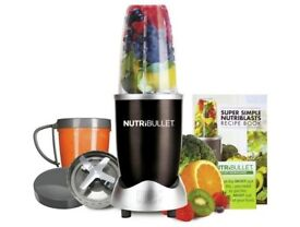Nutribullet with two cups/ two blades/ recipe book