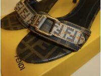 Fendi Low Heel Slipper UK38