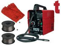 Sealey MIGHTYMIG100 Professional No-gas Mig Welder 100amp 2 x Wire & Gauntlets