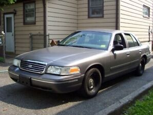 1998 or 1999 Crown Vic Police Interceptor WANTED
