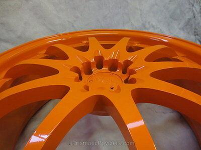 Higloss Ktm Orange Powder Coating Paint 1lb0.45kg