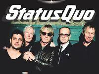 4 x VIP STATUS QUO @ O2 LONDON 11th Dec