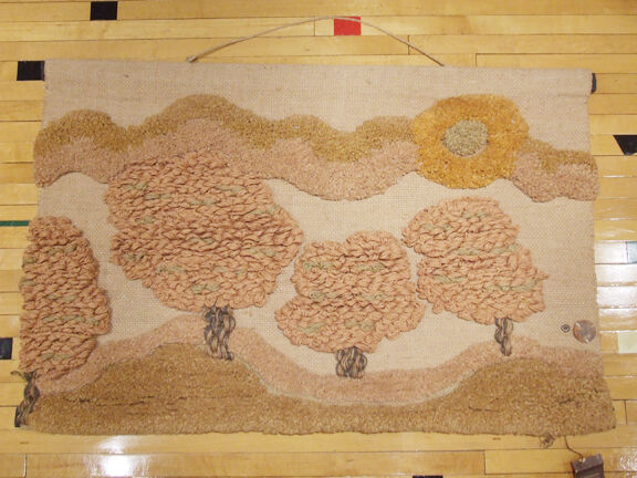 Don Freedman - Textile Landscape - Handwoven in India for Tree Time Interlude